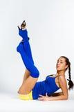 De fitness van sporten meisje Royalty-vrije Stock Afbeelding