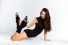De fitness van sporten meisje Stock Fotografie