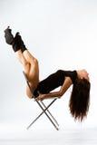 De fitness van sporten meisje Royalty-vrije Stock Fotografie