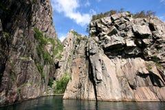 De Fjorden Stock Afbeeldingen