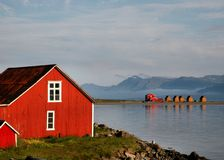 De Fjorden van IJsland Royalty-vrije Stock Foto's