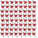 De Flamingo's ROZE elementen van het luxeontwerp royalty-vrije illustratie