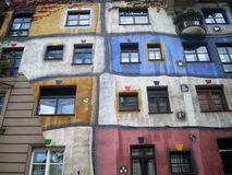 De flat van Wenen royalty-vrije stock afbeelding