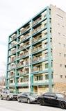 De flatgebouwen met koopflats van Brooklyn New York Stock Afbeelding
