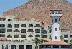 De Flatgebouwen met koopflats van Cabo Stock Foto