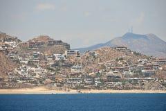 De Flatgebouwen met koopflats van de Toevlucht van Cabo San Lucas Stock Foto