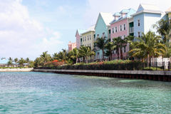 De Flatgebouwen met koopflats van Oceanfront Royalty-vrije Stock Afbeelding