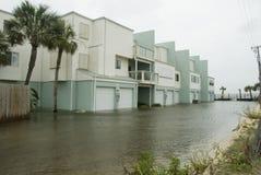 De Flats van Gustav Flooded Royalty-vrije Stock Foto's