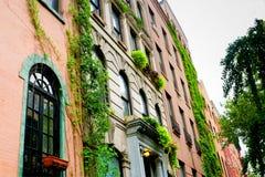 De Flats van het East Village, New York Stock Foto's