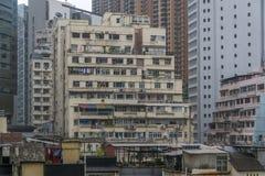 De Flats van Hongkong Stock Foto's