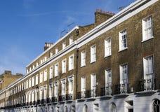 De flats van Londen Stock Afbeeldingen