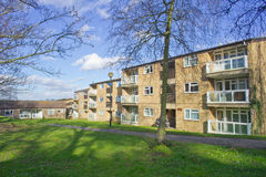 De flats van Norwich Royalty-vrije Stock Foto