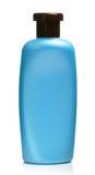 De fles shampoo is geïsoleerdo royalty-vrije stock afbeelding