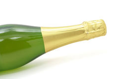De fles van Champagne stock fotografie