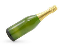 De fles van Champagne Royalty-vrije Stock Afbeeldingen