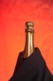 De fles van Champagne Royalty-vrije Stock Afbeelding