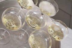 De fles van Champagne klaar voor viering Stock Fotografie