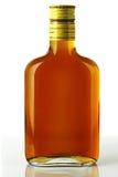 De fles van de brandewijn stock foto's