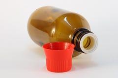 De fles van de geneeskunde Royalty-vrije Stock Fotografie