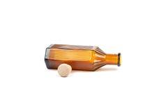 De fles van de geneeskunde Stock Foto