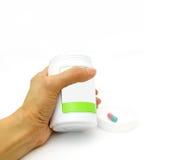 De fles van de geneeskunde Royalty-vrije Stock Foto