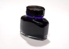 De Fles van de inkt royalty-vrije stock afbeeldingen