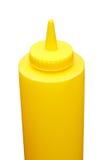 De fles van de mosterd Stock Fotografie
