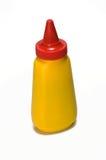 De fles van de mosterd Stock Afbeeldingen