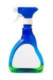 De fles van de nevel met leeg etiket royalty-vrije stock afbeelding