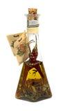 De fles van de olie Royalty-vrije Stock Foto's