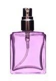 De fles van de parfumnevel Stock Foto's