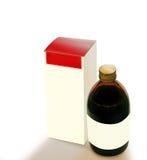 De fles van de stroop Royalty-vrije Stock Fotografie