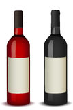 De fles van de wijn vector illustratie