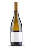 De fles van de wijn Stock Afbeeldingen