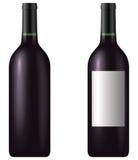 De fles van de wijn royalty-vrije illustratie