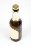 De fles van het bier Stock Foto