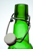De fles van het bier Stock Foto's