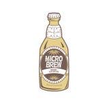 De Fles van het bier Royalty-vrije Stock Afbeelding