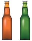De fles van het bier royalty-vrije illustratie