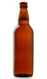 De fles van het bier met waterdalingen Royalty-vrije Stock Foto