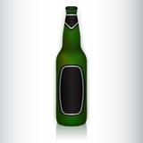 De fles van het glas Royalty-vrije Stock Foto