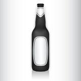 De fles van het glas Stock Foto