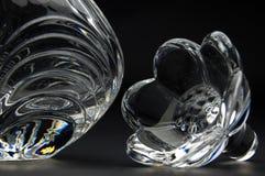De fles van het glas Royalty-vrije Stock Afbeeldingen