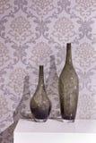 De fles van het glas Royalty-vrije Stock Foto's