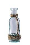 De Fles van het glas met de stijl van Bali royalty-vrije stock foto's