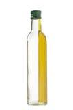 De Fles van het glas, Vloeistof Royalty-vrije Stock Foto's