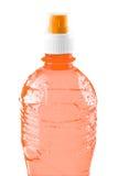 De fles van het mineraalwater royalty-vrije stock afbeelding