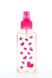 De fles van het parfum Stock Fotografie