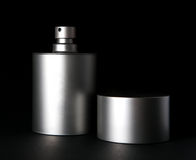 De fles van het parfum Stock Foto