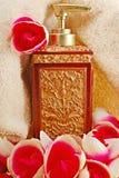 De fles van het parfum Royalty-vrije Stock Afbeelding